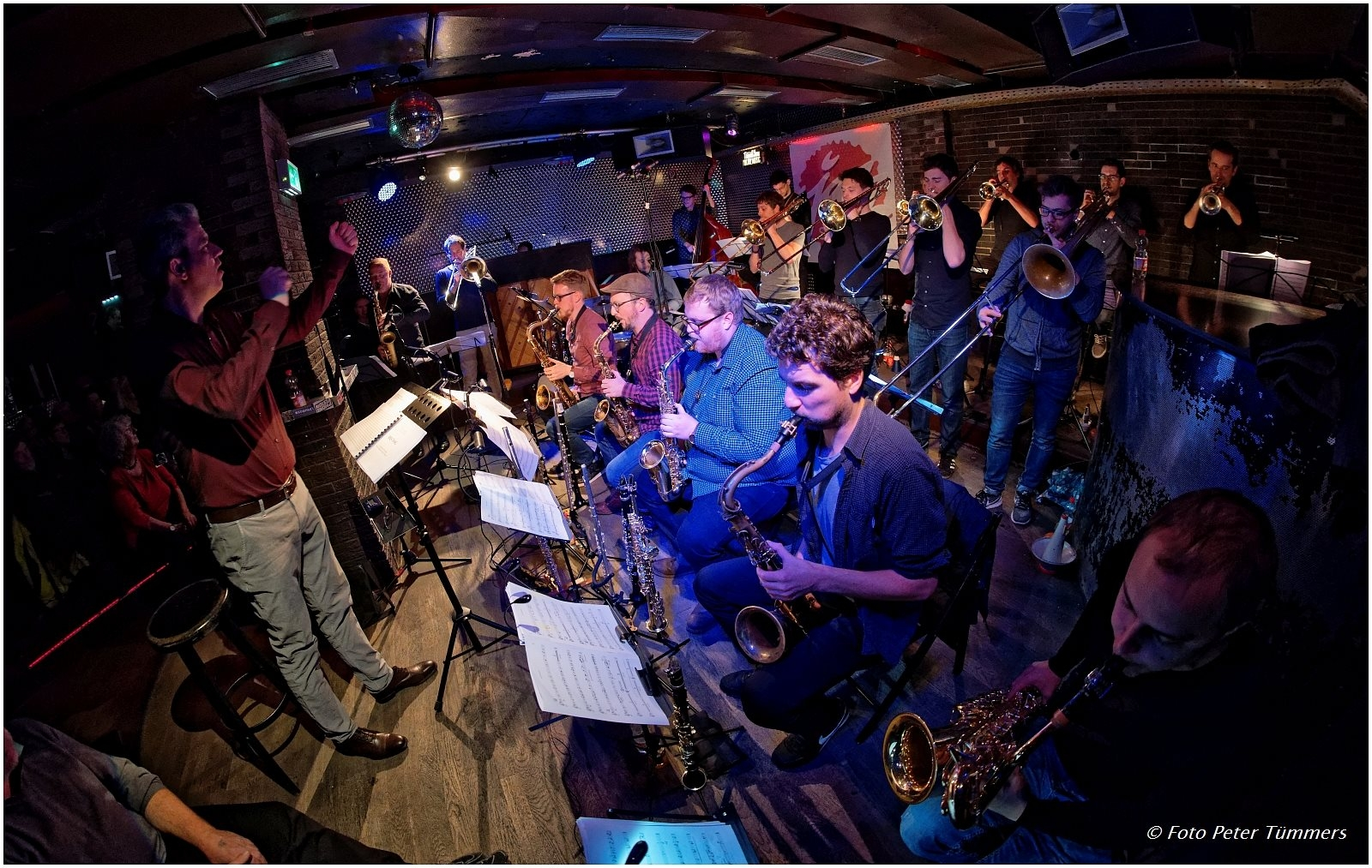 Subway Jazz Orchestra, photo by Peter Tümmers